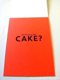 CAKE INSIDE