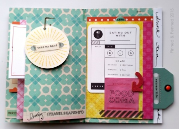 Shimelle embellishment and Studio Calico journaling card.