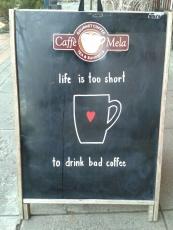 We love Cafe Mela in Wenatchee, WA