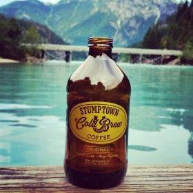 Cold Brew on Lake Diablo, WA